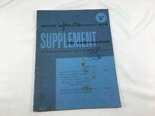 1960 Airforce Information Policy Suppliment