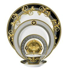 VERSACE PRESTIGE GALA GOLD 5 piece place setting dinner SET Rosenthal NEW