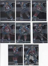 01/02 BAP Signature Series Colorado Avalanche 8 cards Tanguay Foote Larsen RC+