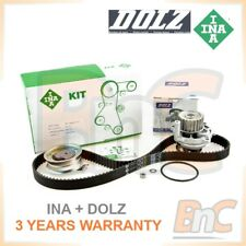 INA DOLZ HEAVY DUTY TIMING BELT KIT & WATER PUMP VW GOLF VI 6 PLUS 1.6