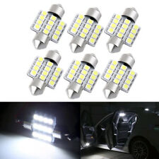 2Pcs White 31mm 12 LED SMD Festoon Dome Car Bulbs Light Lamps 12V Super Bright