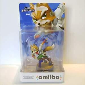 Fox Amiibo - Super Smash Bros. Series Figure - Nintendo USA - NEW