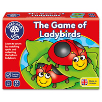The Game of Ladybirds by Orchard Toys Ages 3 ~ 7