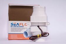 SEAFLO 12v 3 inch inline bilge,heads,galley,engine compartment,blower for boats.