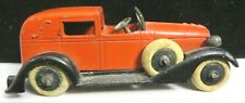 Vintage Tootsietoy Car Graham Series #616 Red & Black 6 Wheel Town Car