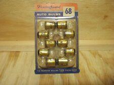 Westinghouse # 68 Oldsmobile Pontiac 12 volt courtesy lamp bulbs 10 ea NOS!