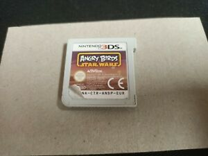 ANGRY BIRDS STAR WARS - NINTENDO 3DS 2DS LOOSE