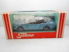 1679 TEKNO ORIGINAL 834 COCHE FORD MUSTANG  METAL MODEL CAR BOX 1:43 1/43 DENMAR