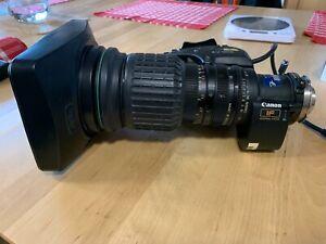 Canon YJ12 x 6.5 B4 ENG lens with x2 extender - please read description