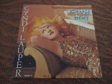 45 tours CYNDI LAUPER change of heart