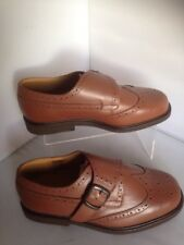 Mans Cosyfeet shoes uk 6 Extra Wide fitting Brown leather
