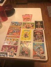 12 Vintage Garbage Pail Kids Large Card 5X7 Lot 1986 ORIGINAL OWNER!!