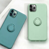 RING Schutzhülle Silikon Schutz Hülle Handy iPHONE X XS XR 11 12 Pro Max Mini