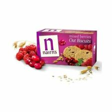 Nairn's Mixed Berries Oat Biscuit Cookie 200g (6 Pack)