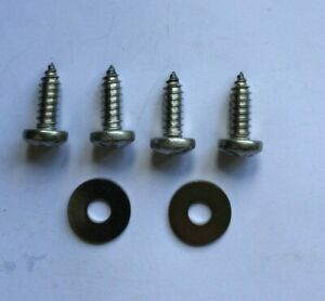 Land Rover Series 2, 2a & 3 Stainless Steel Front Apron Valance Screw Kit
