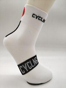 Cycling Socks Bike Racing Riding Tri MTB Pro Cycling Star Team Long Bike Socks