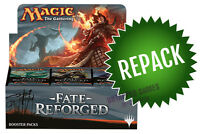 Fate Reforged FRF Booster Box Repack! 36 Opened MTG Packs In Box