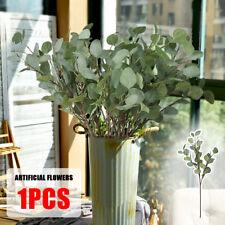 Artificial Fake Leaf Eucalyptus Green Plant Silk Flowers Nordic Home Decor 65cm