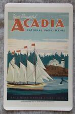 Acadia National Park Vinyl Sticker New