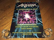 Anthrax -We've Come for You All (Vintage 2003 in-store Promo Poster)Thrash Metal