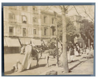 Egypte, Caire (القاهرة), Une rue de Caire  Vintage citrate print Tirage ci