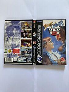 Street Fighter Alpha 2 Sega Saturn 🪐 PAL