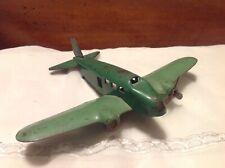 Vintage Wyandotte Twin Engine Pressed Steel Airplane