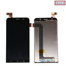 ECRAN LCD + VITRE TACTILE NOIR COMPLET ASUS ZENFONE GO ZB552KL,X007D