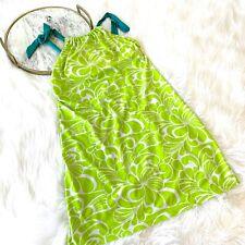 Athleta Kokomo Swimdress Sz Small S Aloha Sour Apple Green
