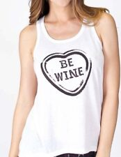 PJ Salvage Be Wine Sleep Tank Shirt PJ's Pink Blush Size XL