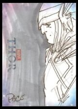 2011 MARVEL THOR RICHARD PACE ARTIST Pack Pulled Sketch Card # 1 OF 1