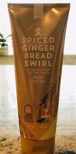 BATH & BODY WORKS - SPICED GINGER BREAD SWIRL ULTRA SHEA BODY CREAM FULL SIZE