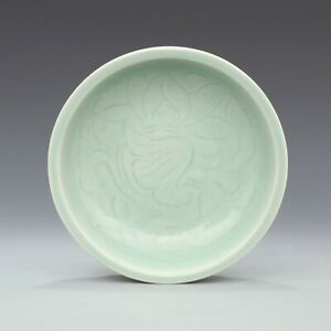 A Fine Collection Chinese 12thC Song LongQuan Ware Porcelain Lotus Flower Plates