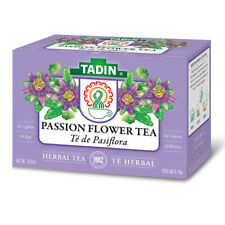 Tadin Herbal Tea Pasiflora / Passion Flower. Caffeine-Free. 24 Bags. 0.84 Oz