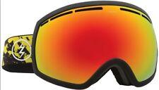 NEW Electric EG2 Black Brose Red Mirror Mens ski snowboard goggles Msrp$140