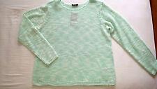 Mehrfarbige Damen-Pullover aus Acryl ohne Verschluss