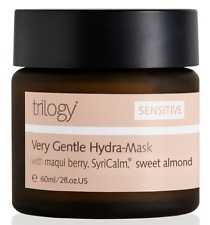 Trilogy Very Gentle Hydra-Mask Sensitive Skin Face Maqui Berry 2 oz 60mL Full Sz