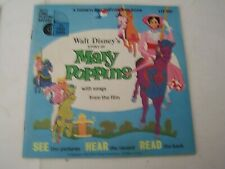 1965 WALT DISNEY'S STORY OF MARY POPPINS DISNEYLAND RECORD AND BOOK