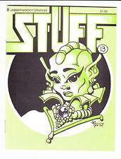 Stuff #13 VF/NM jabberwocky graphix BRAD W. FOSTER baby godzilla 1988 (#191)