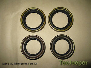 new Oil Seal Differential Repair Kit Jeep M151 A2