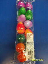 Fillable Plastic Eggs Egg Hunt Easter Holiday Party Decoration Favors - Tie Dye