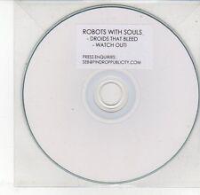 (DV564) Robots With Souls, Droids that Bleed - DJ CD