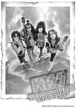 "KISS   FLAGGE / FAHNE   ""FAREWELL TOUR"" POSTER FLAG"