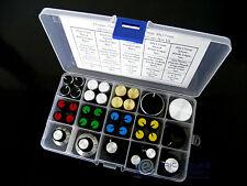 15value 37pcs 15x17 30x17mm A1 A2 A3 Knob Cap Mini Alloy Potentiometer Box Kit