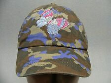 CHILDREN'S PLACE - 4-7 MONTHS SIZE - BUTTERFLY - ADJUSTABLE BALL CAP HAT!