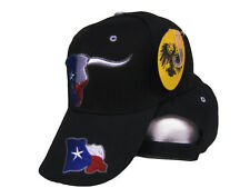 Embroidered Texans Texas Hookem Horns Lonestar Star Baseball cap Hat