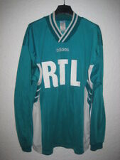 VINTAGE Maillot porté AS SAINT-ETIENNE Coupe de France Adidas ancien RTL XL