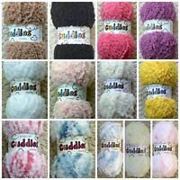 Knitting Wool 50g Cuddles Chunky (Bulky) Knitting Wool Yarn Baby Wool King Cole