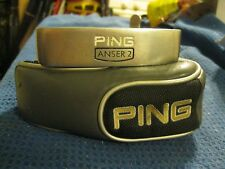 "Ping Karsten Anser 2 Putter 33"" Karsten steel shaft Super Stroke Grip + Cover"