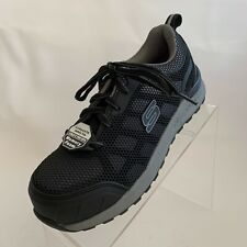 Skechers Work Womens Bulklin Lyndale Safety Composite Toe Lace Up Shoes 6.5 NEW